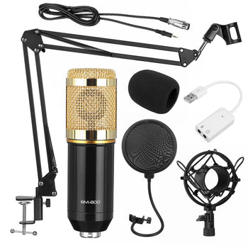 USB Condenser microphone kit for vlogging