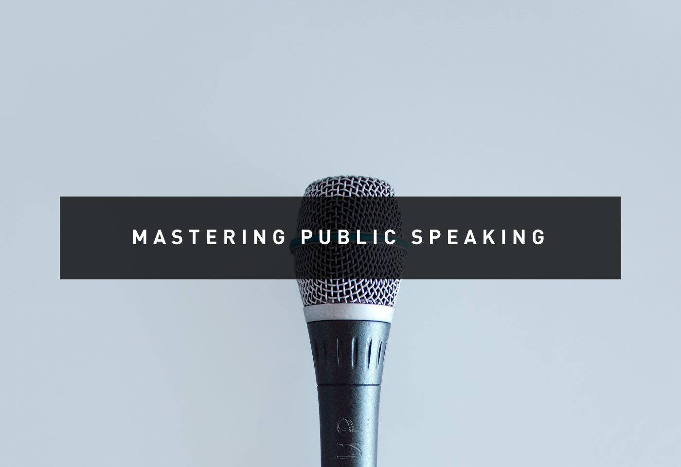Conquer the Panic of Public Speaking