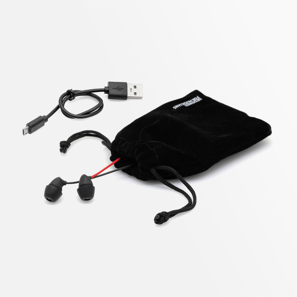 ADV. Sleeper Wireless Bluetooth Neckband Earbuds for Sleeping ASMR Travel Meditation Black