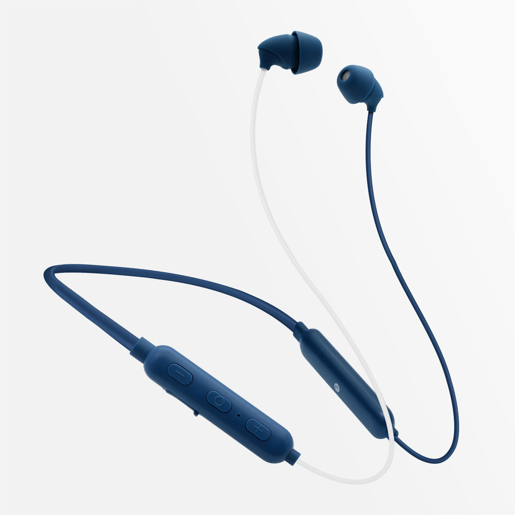 ADV. Sleeper Wireless Bluetooth Neckband Earbuds for Sleeping ASMR Travel Meditation Blue