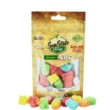 Load image into Gallery viewer, BAG GUMMY SOUR BEARS 180MG - 12 COUNT