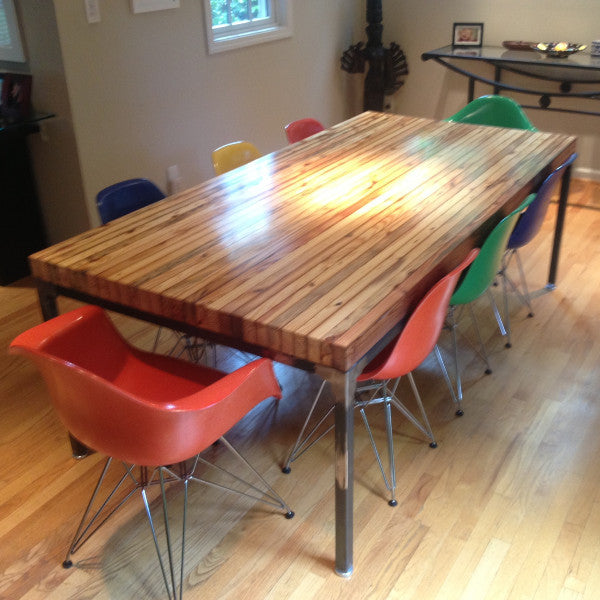 Grand Boulevard Industriale Dining Table Workshop