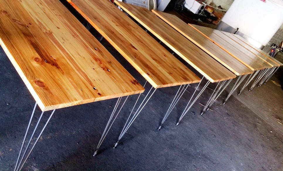 - Workshop™ Reclaimed Wood Dining Table Built To Order