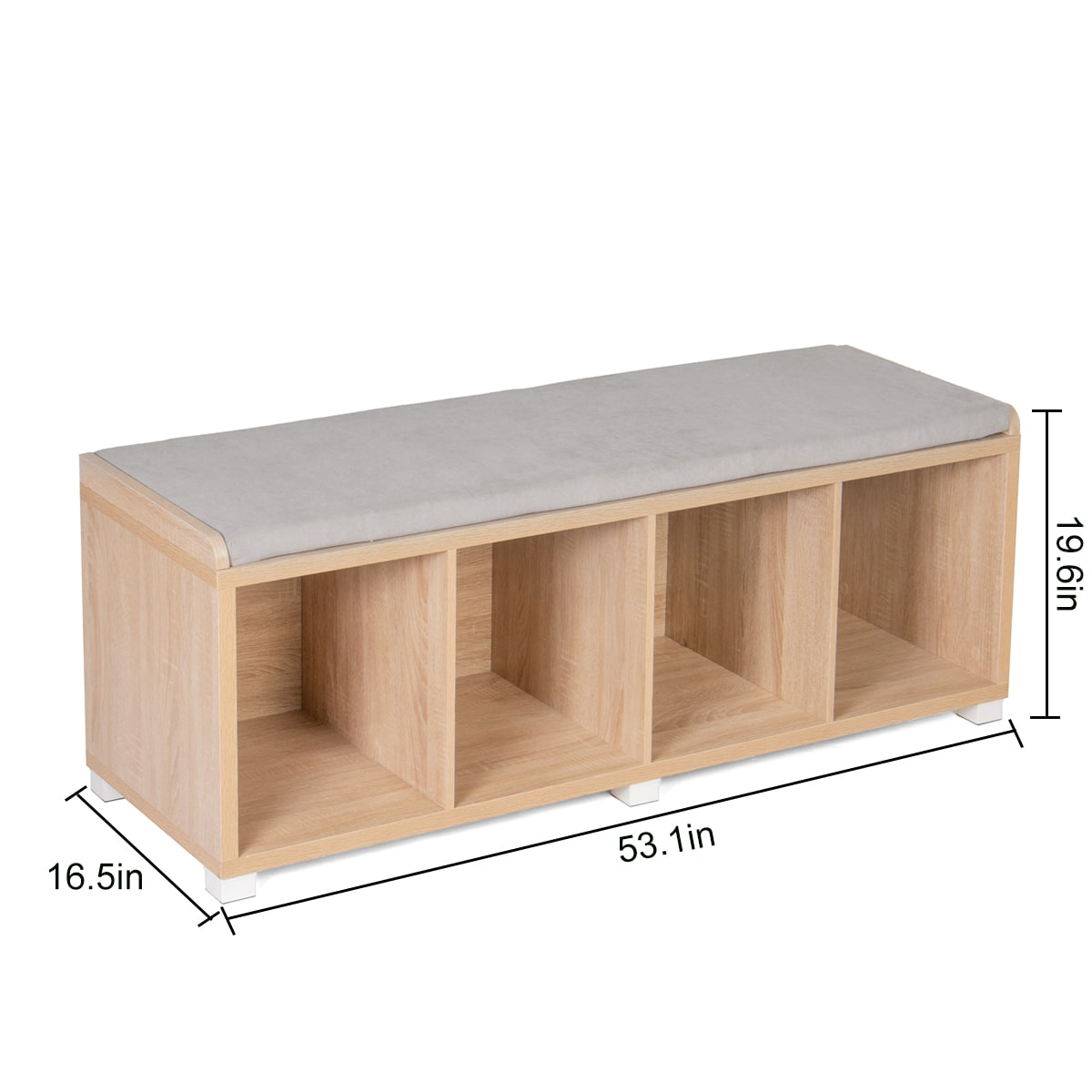 storage bench dimensions