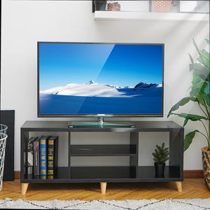 Modern Wood Cabinet Stand Made For TVs 47 inches
