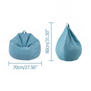 NESLOTH Soft Bean Bag Chairs Sofa Indoor Lazy Sofa 70*80 Contains EPS Particles For Gaming Rest Sofa