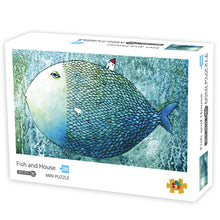 Fish and House Jigsaw Puzzle 1000 Pieces