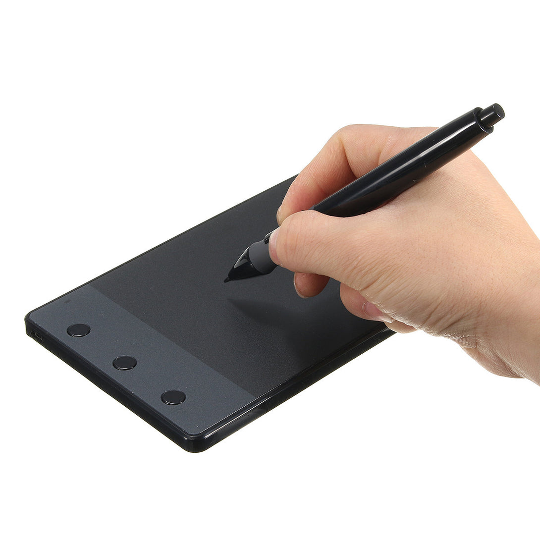 Huion Graphics Drawing Digital Pen Tablet Board with Pen for Desktop PC Mac 4