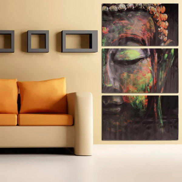 Sleeping Buddha Wall Art Canvas Oil Painting For Home Decoration