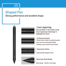 "Graphics Drawing Digital Pen Tablet Board with Pen for Desktop PC Mac 10""x 6"""