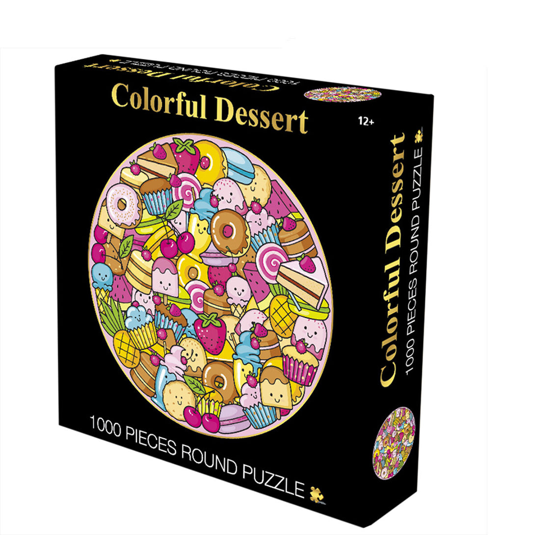 Colorful Desert 1000 pieces Jigsaw Puzzle
