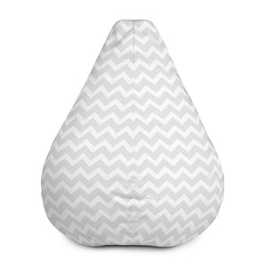 i-kibo™ ZigZag Bean Bag Chair with Filling Available in Nine Colors