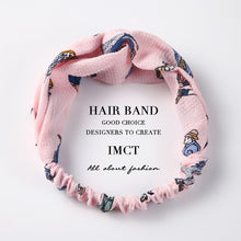 Scarf Headbands For Women Elastic Twisted Head Wrap Turban Fashion Hair Accessories