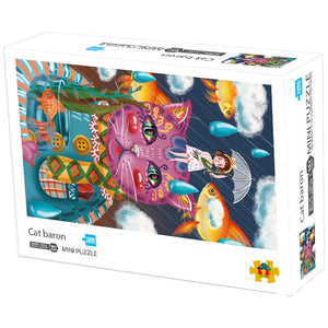 Cat Baron 1000 Pieces Jigsaw Puzzle