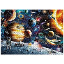 Space Solar System 1000 Piece Jigsaw Puzzle