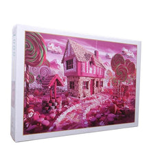 Pink Lollipop House 1000 Pieces Jigsaw Puzzle