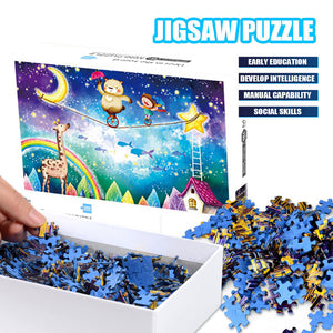 Cute Circus Jigsaw Puzzle 1000 Pieces