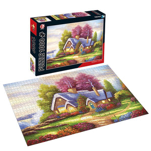 Sweet cottage Jigsaw Puzzle 1000 pieces