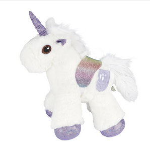 Plush Unicorn Stuffed Animal Soft & Huggable Plush For Cuddling - Fancy Multicolor Lovely Toys For Babies & Toddlers