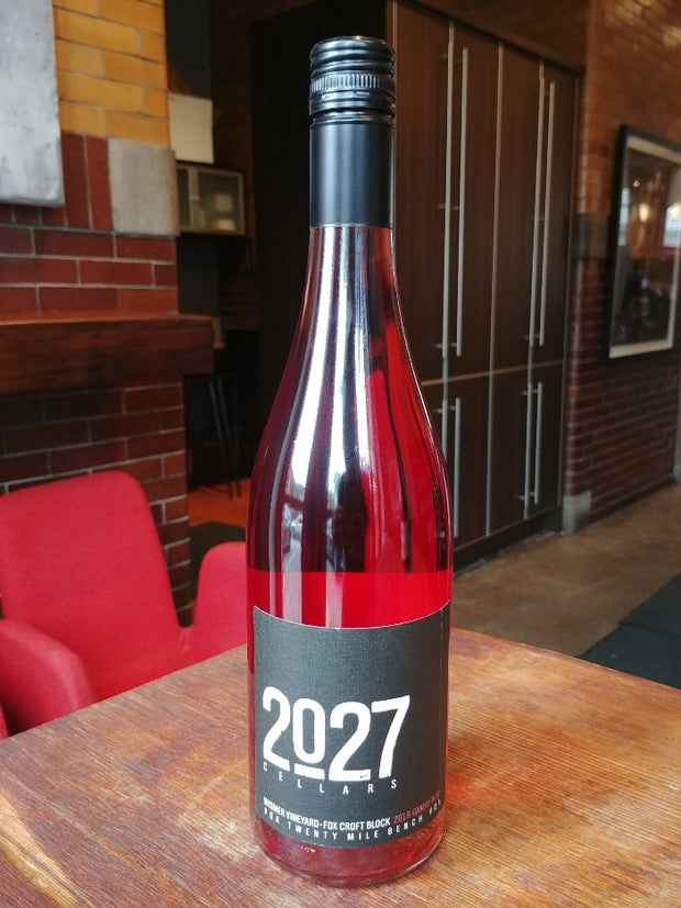 2019 Wismer Vineyard-Fox Croft Block GAMAY ROSE