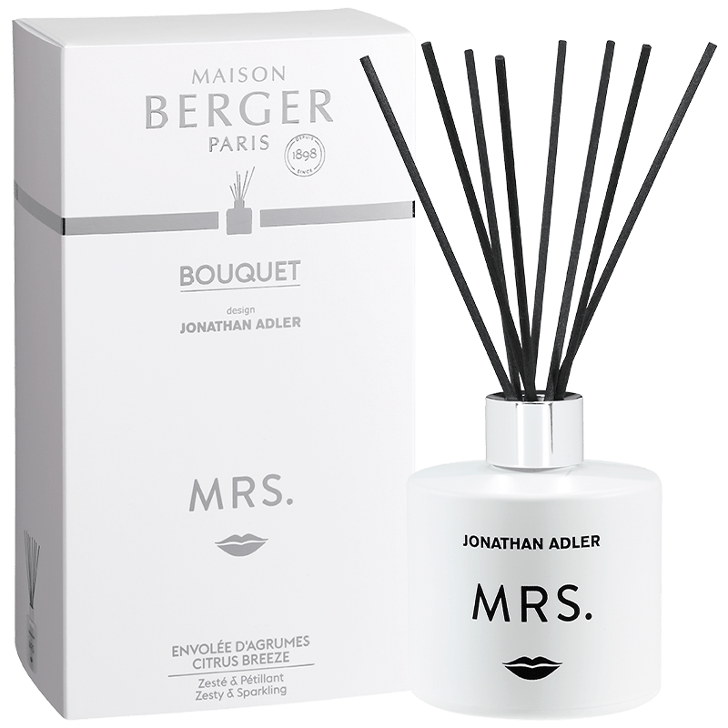 Maison Berger Citrus Breeze Mrs. Scented Bouquet - White - No.42 Interiors