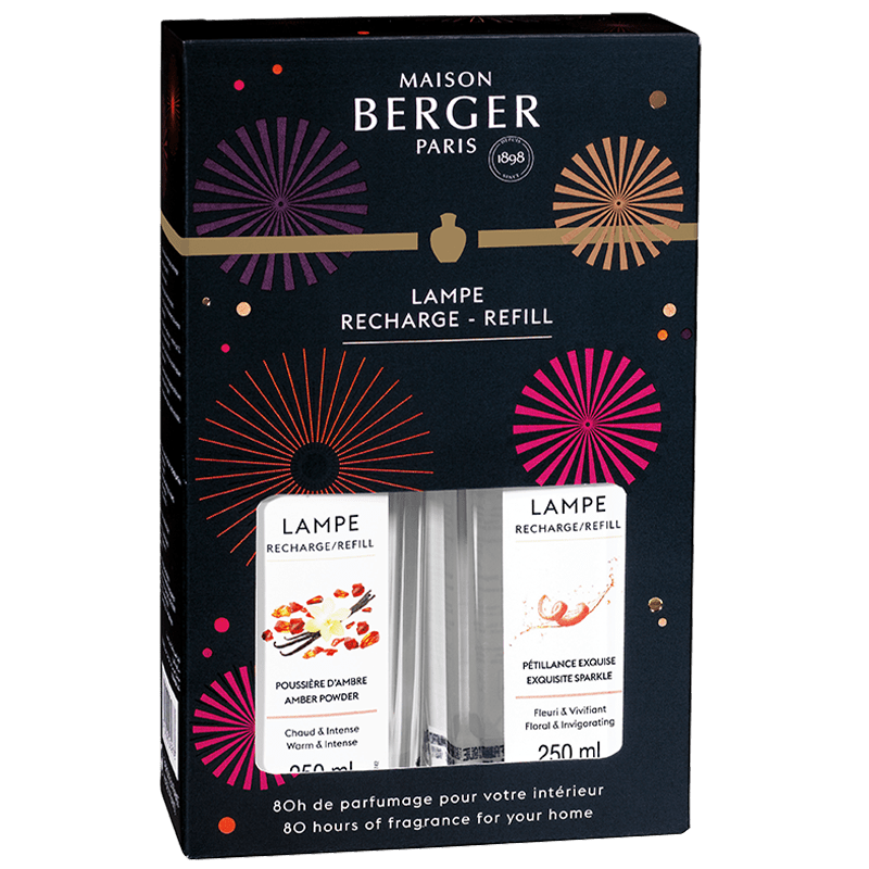 Maison Berger Cercle Collection Duo Lampe Refill Gift Pack - No.42 Interiors