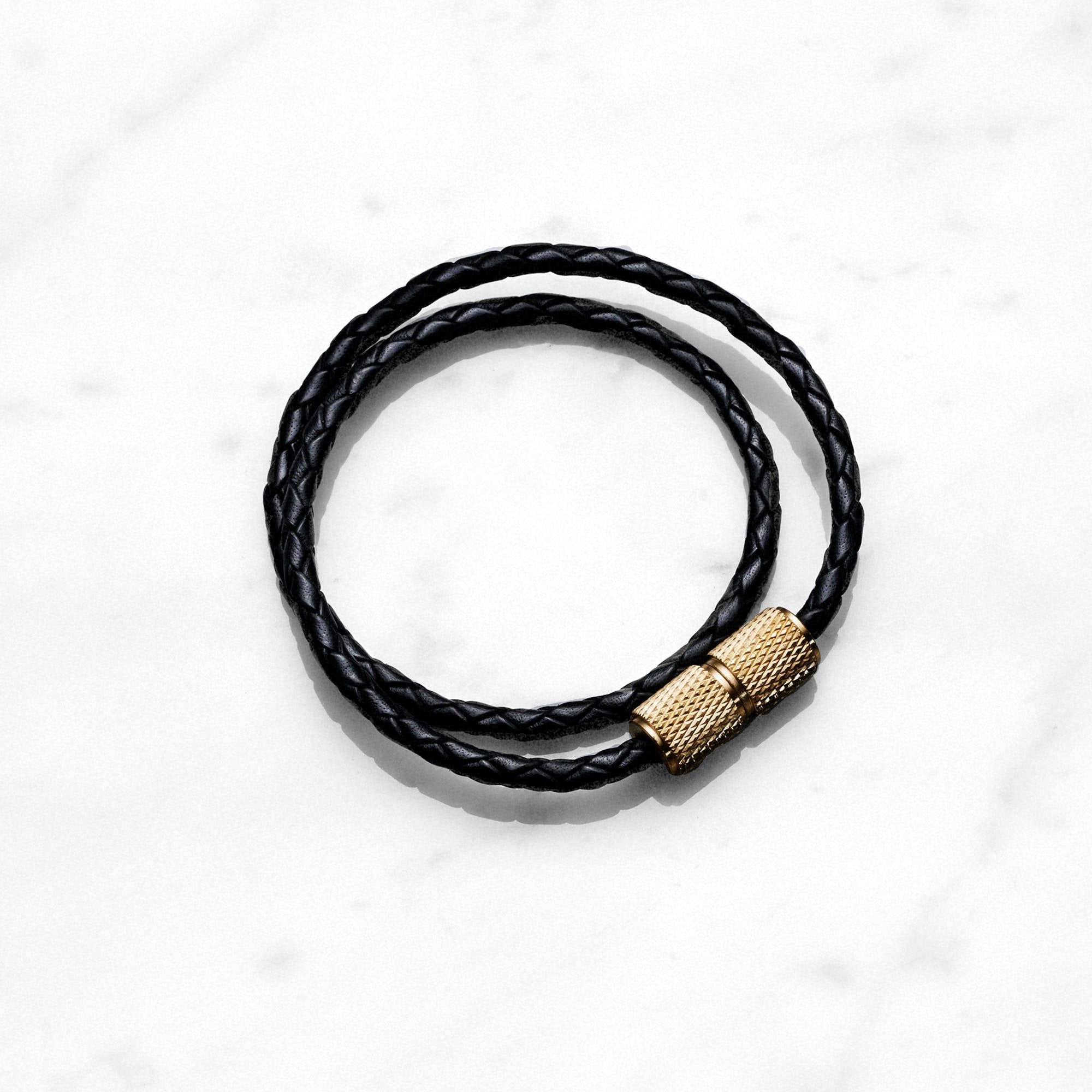 DOUBLE BRACELET/BRASS - No.42 Interiors