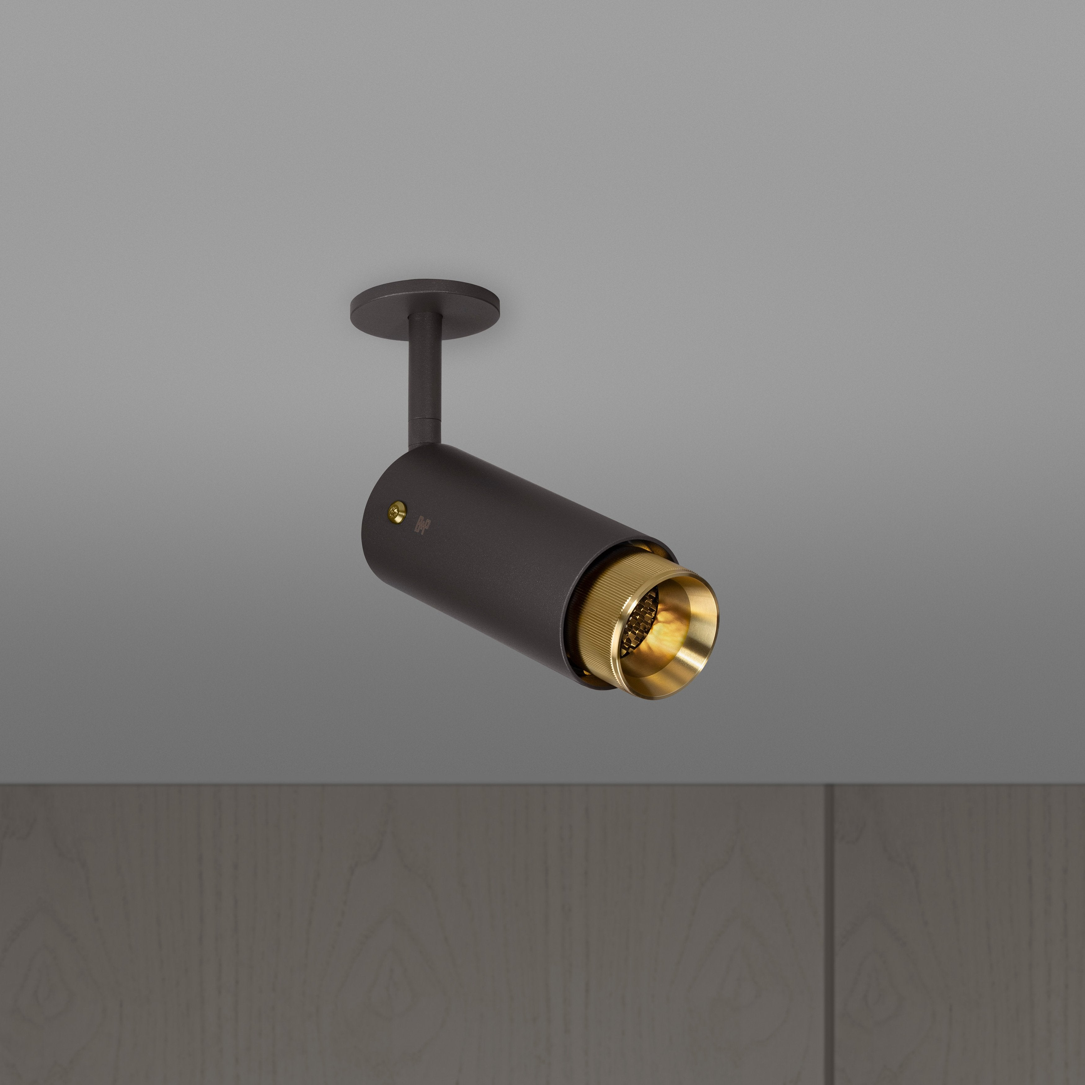 Buster and Punch EXHAUST SPOT / GRAPHITE / BRASS - No.42 Interiors