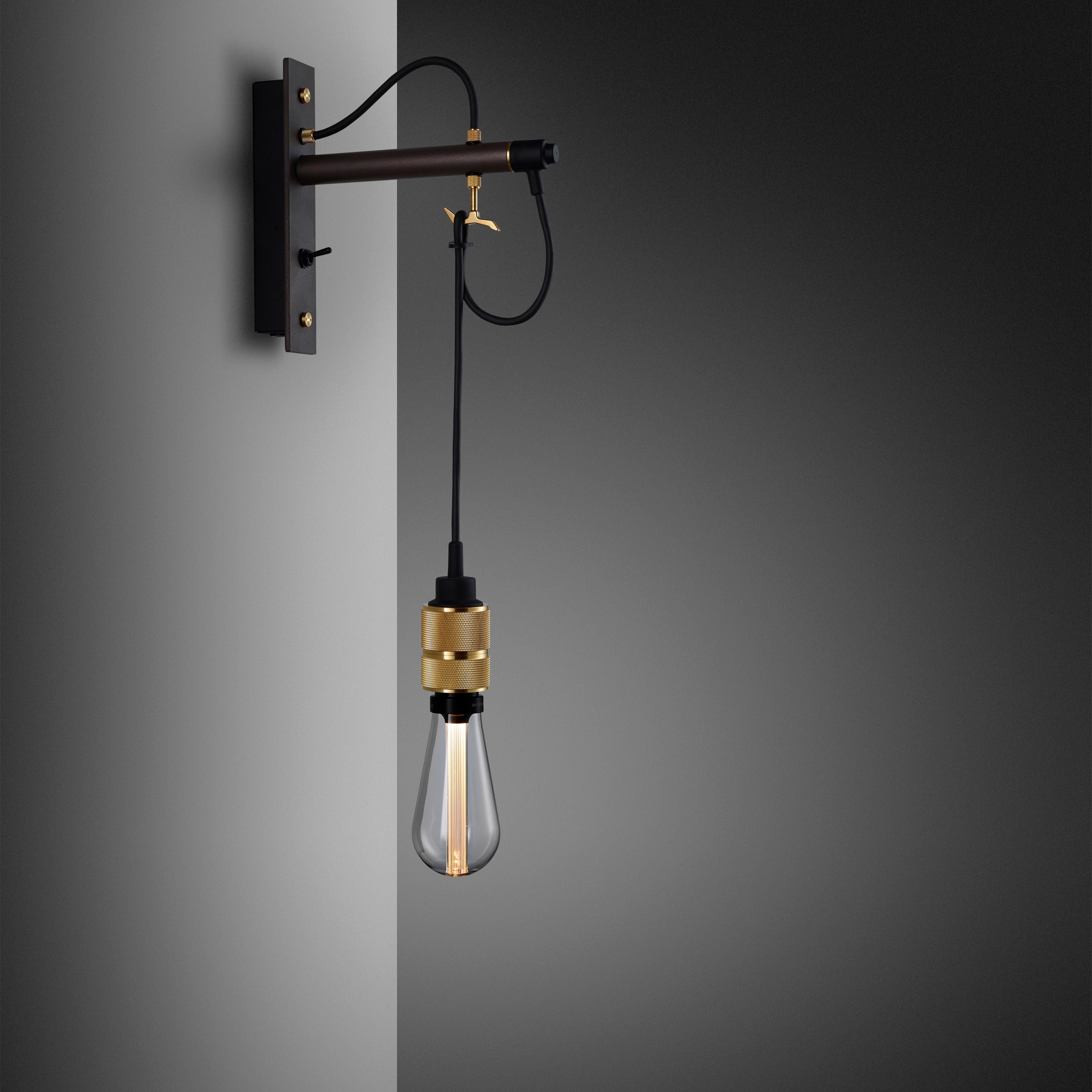 Buster and Punch HOOKED WALL / NUDE / GRAPHITE / BRASS - No.42 Interiors