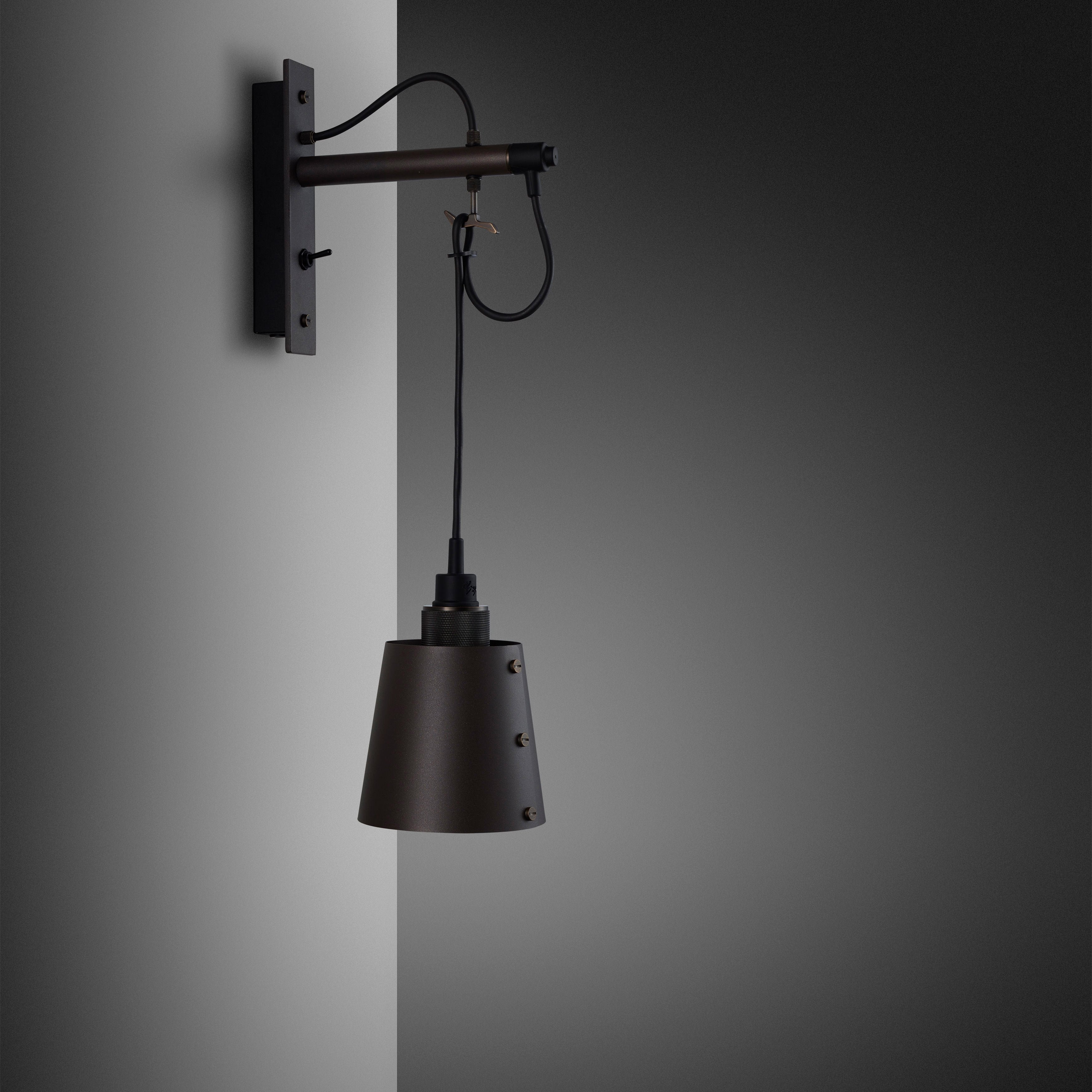 Buster and Punch HOOKED WALL / SMALL / GRAPHITE / SMOKED BRONZE - No.42 Interiors