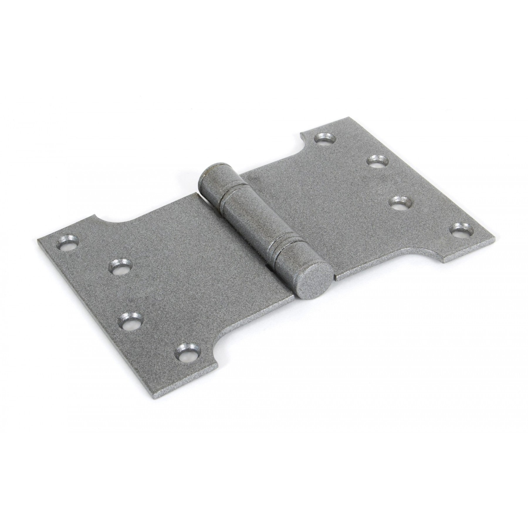 "Pewter 4'' x 4"" x 6"" Ball Bearing Parliament Hinge (pair)"