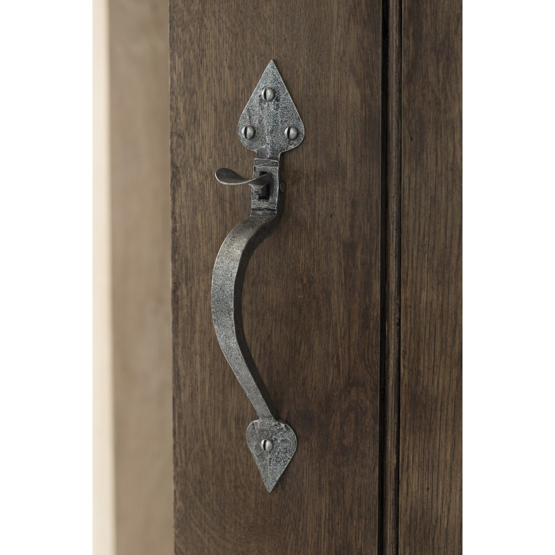 Pewter Patina Handmade Tuscan Thumblatch