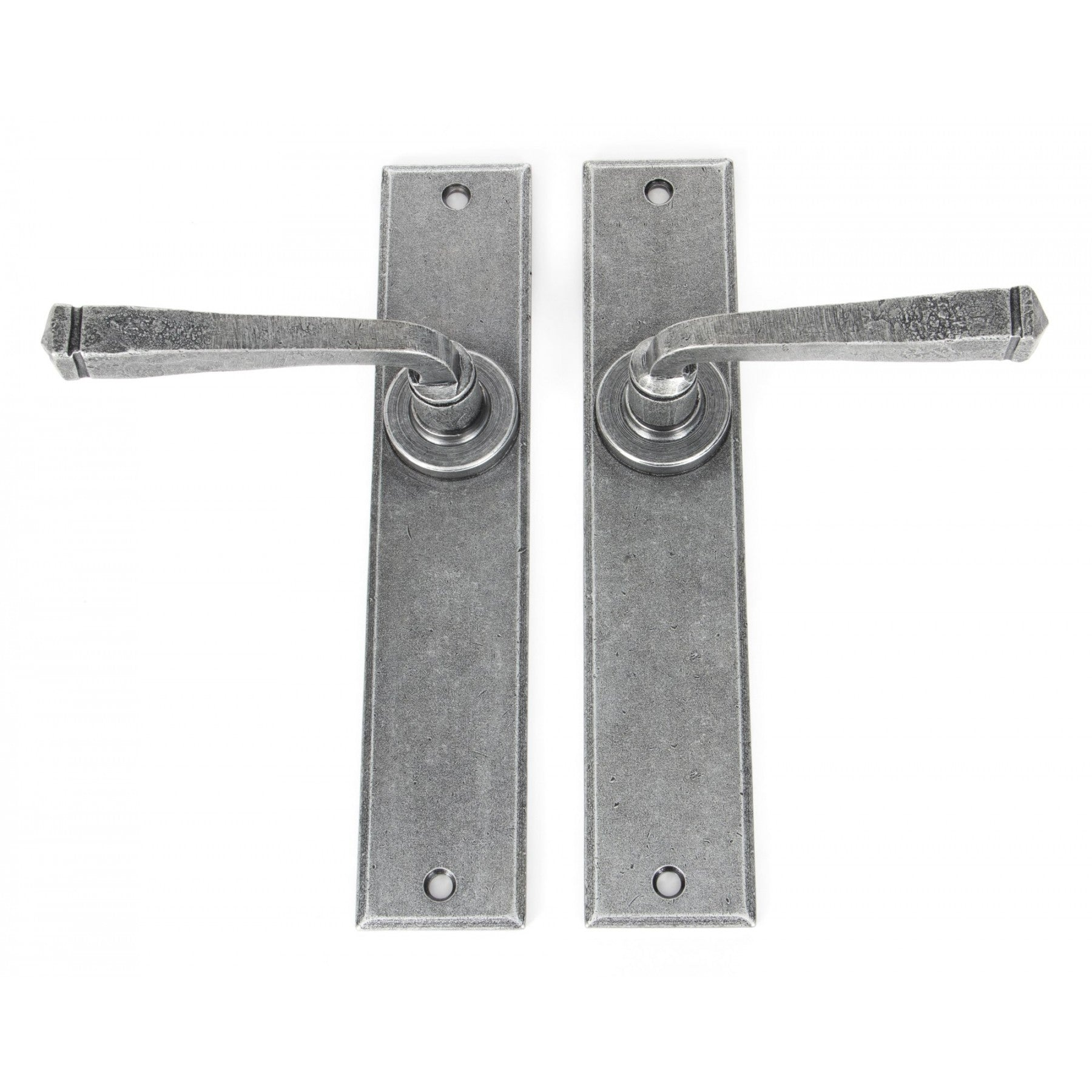 From the Anvil Pewter Large Avon Lever Latch Set