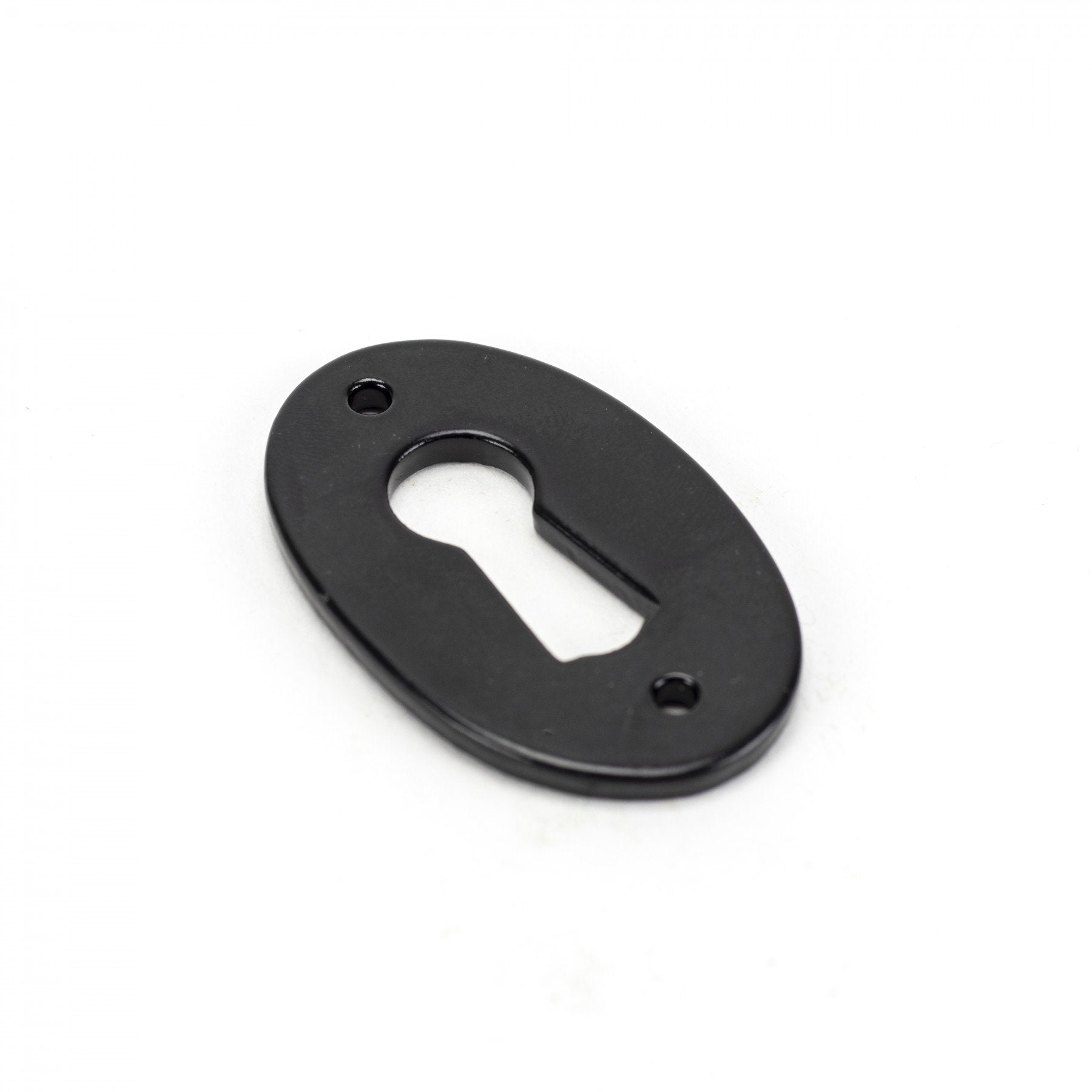 Black Oval Escutcheon