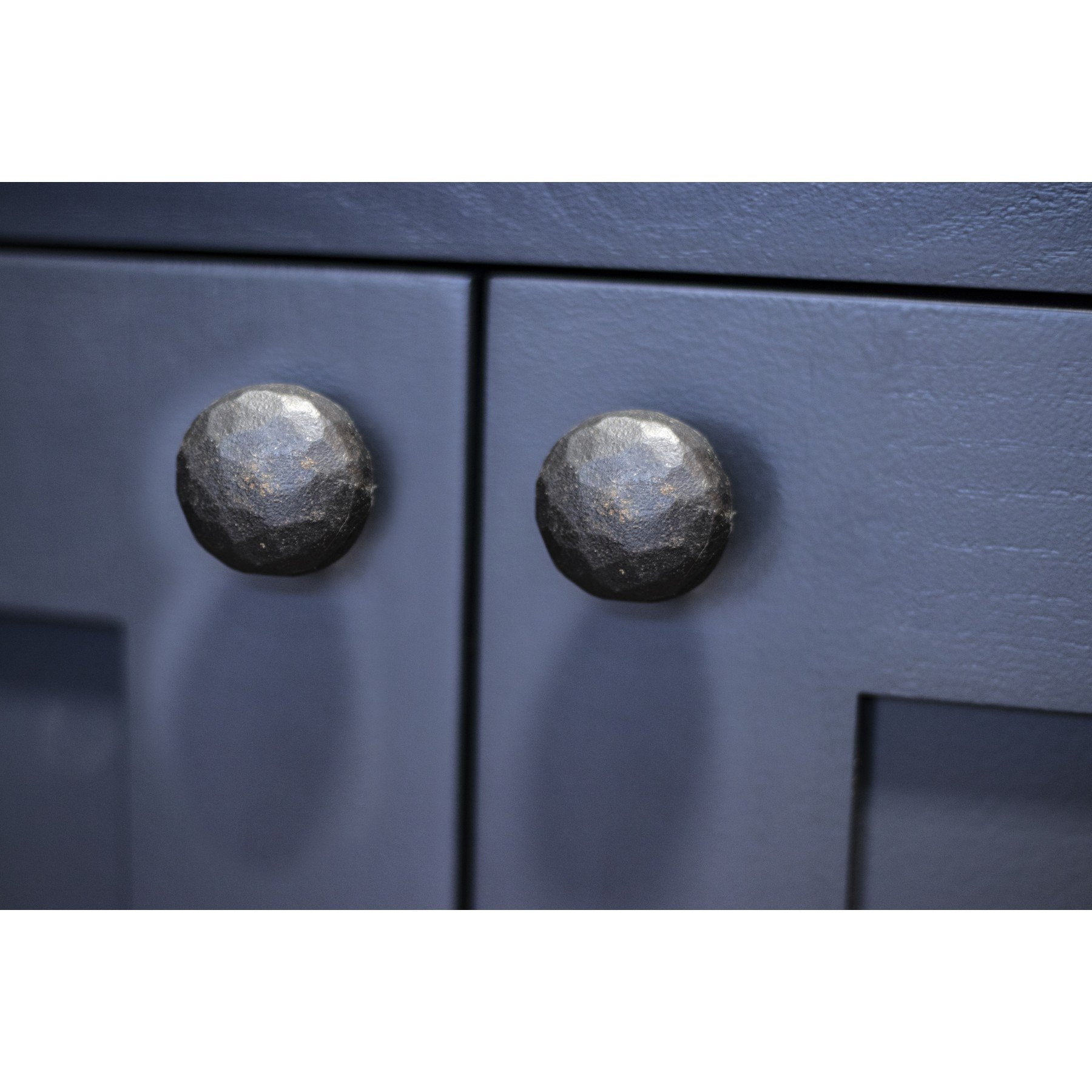 Beeswax Hammered Knobs - Small