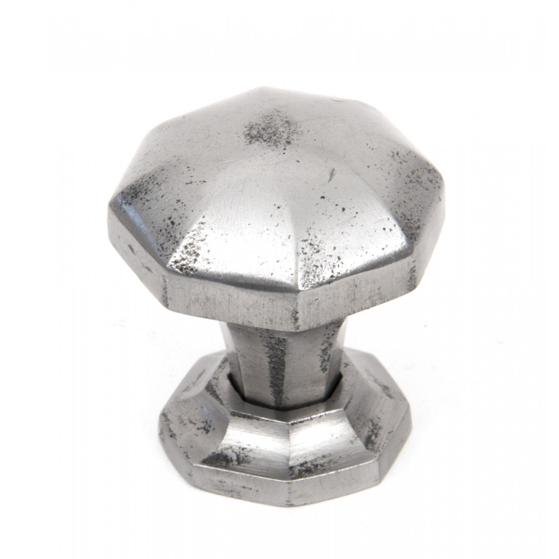 From the Anvil Natural Smooth Octagonal Cabinet Knobs - Small