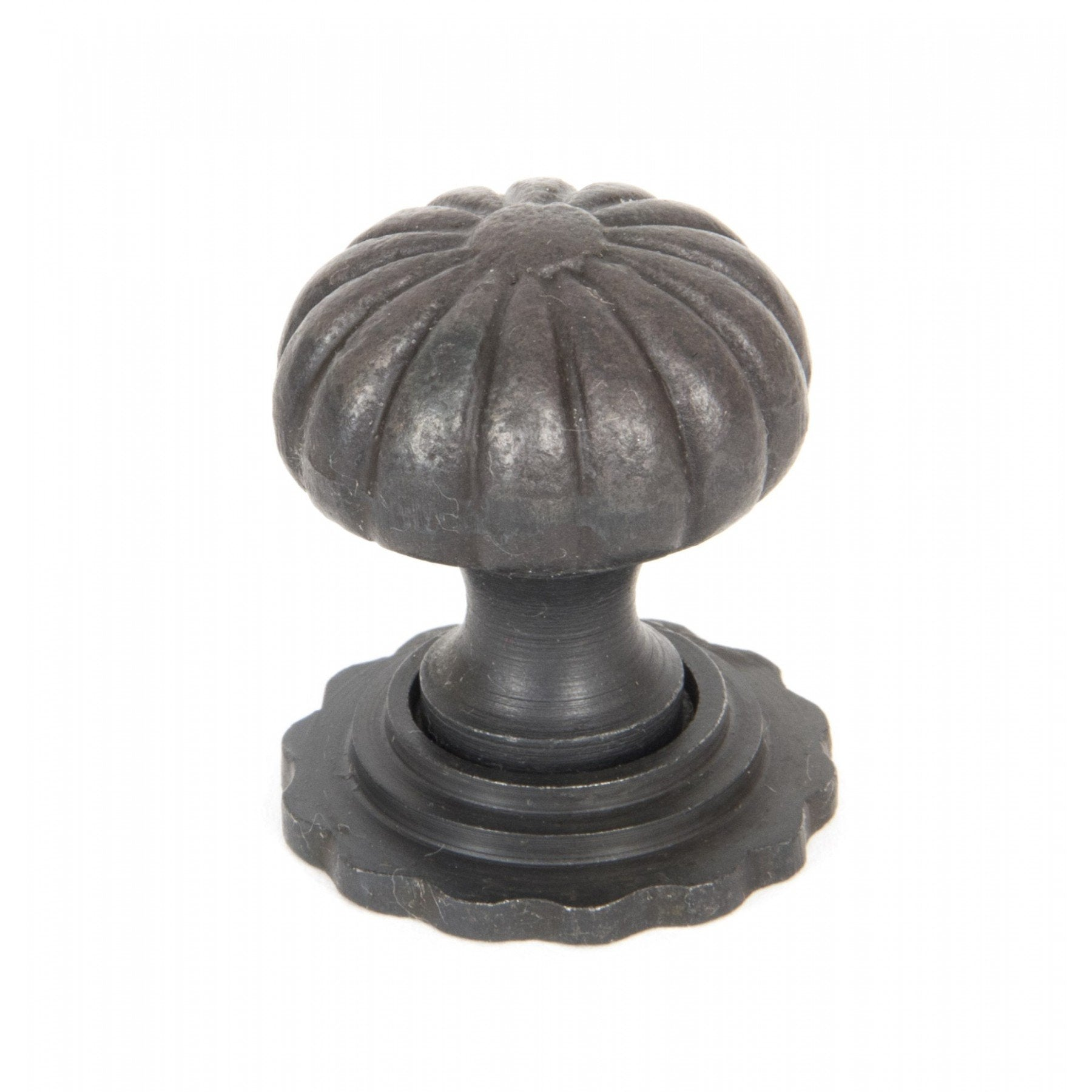 Beeswax Cabinet Knob with Base - Small