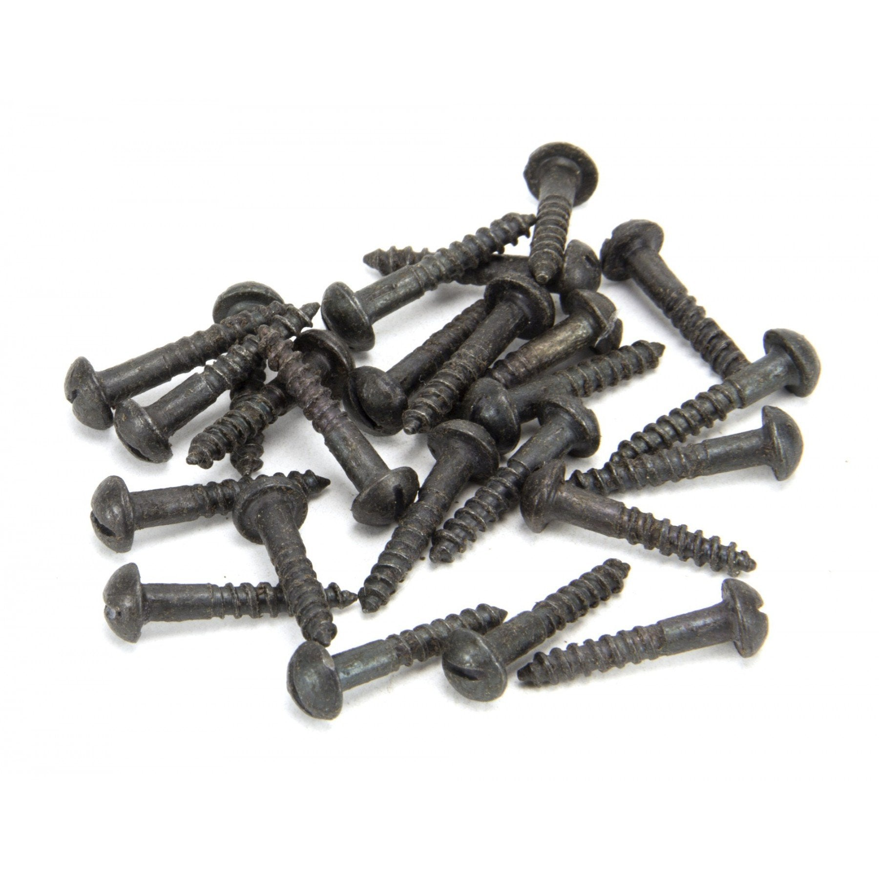 "Beeswax 8 x 1"" Round Head Screws (25) - No.42 Interiors"