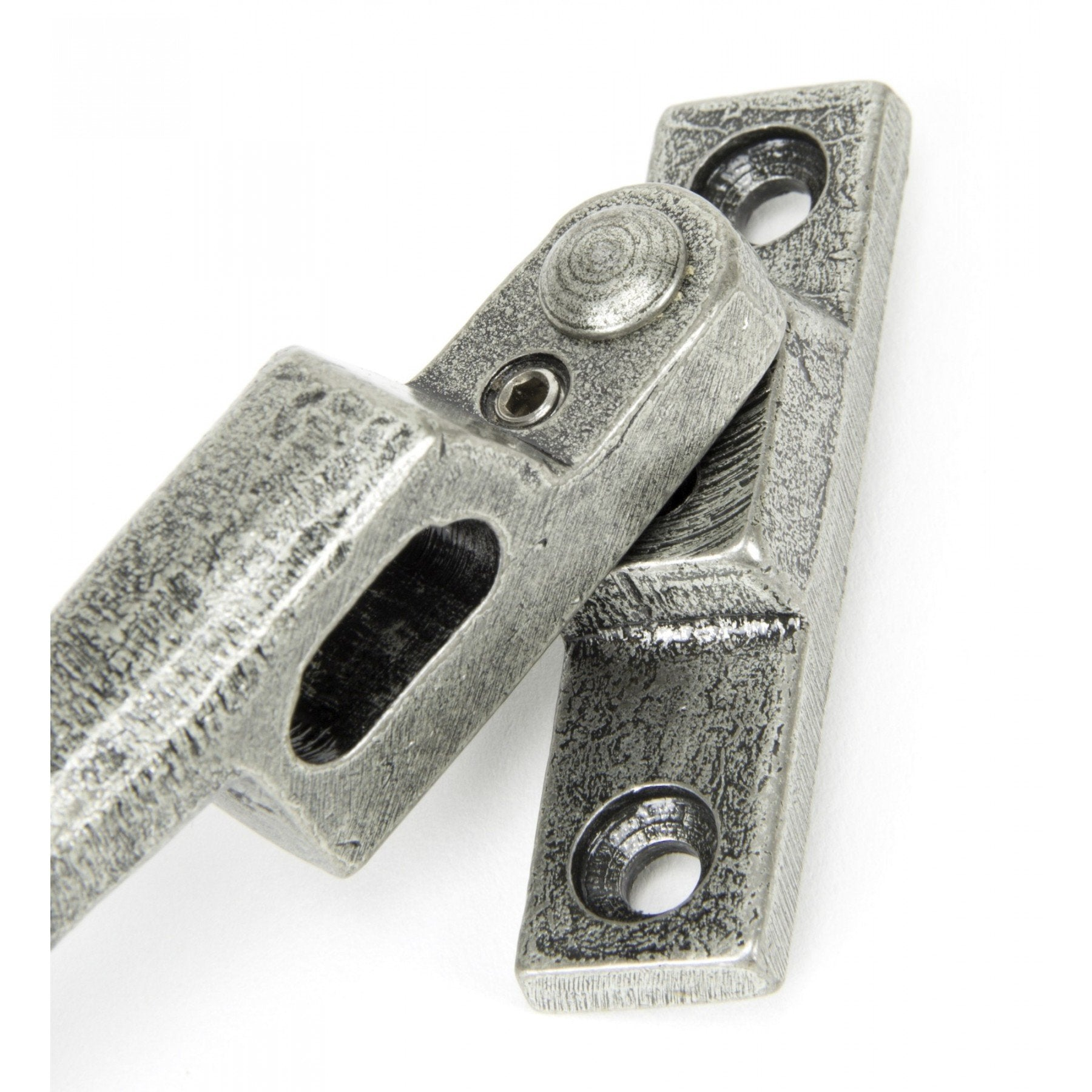 Pewter Night Vent Fastener LH - Locking