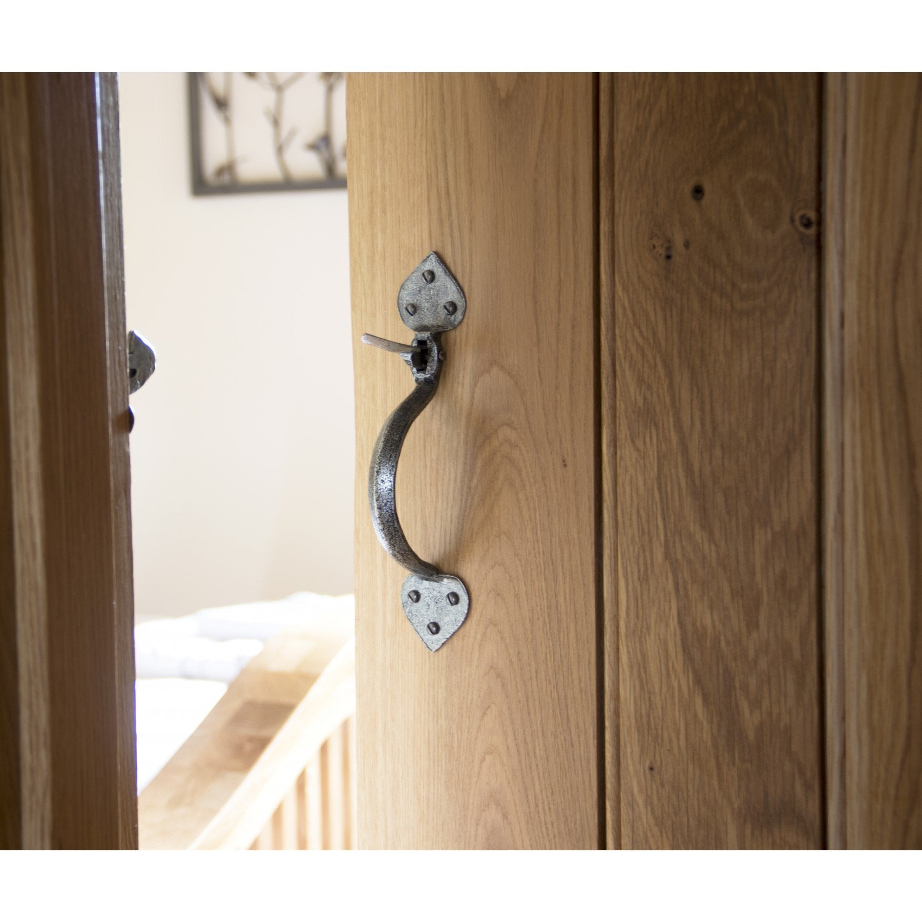 Pewter Gothic Thumblatch - No.42 Interiors