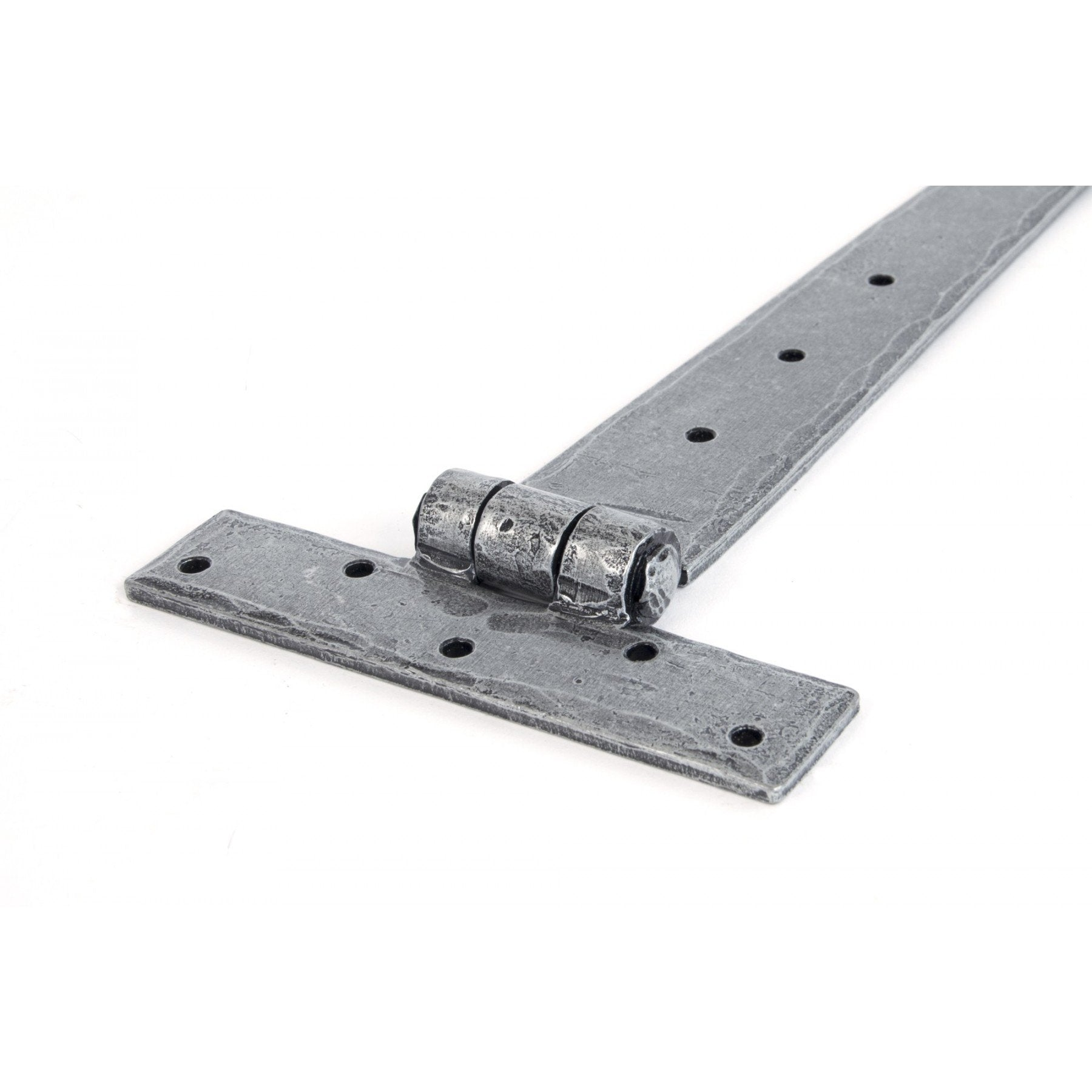 Pewter 18'' T Hinge (pair) - No.42 Interiors