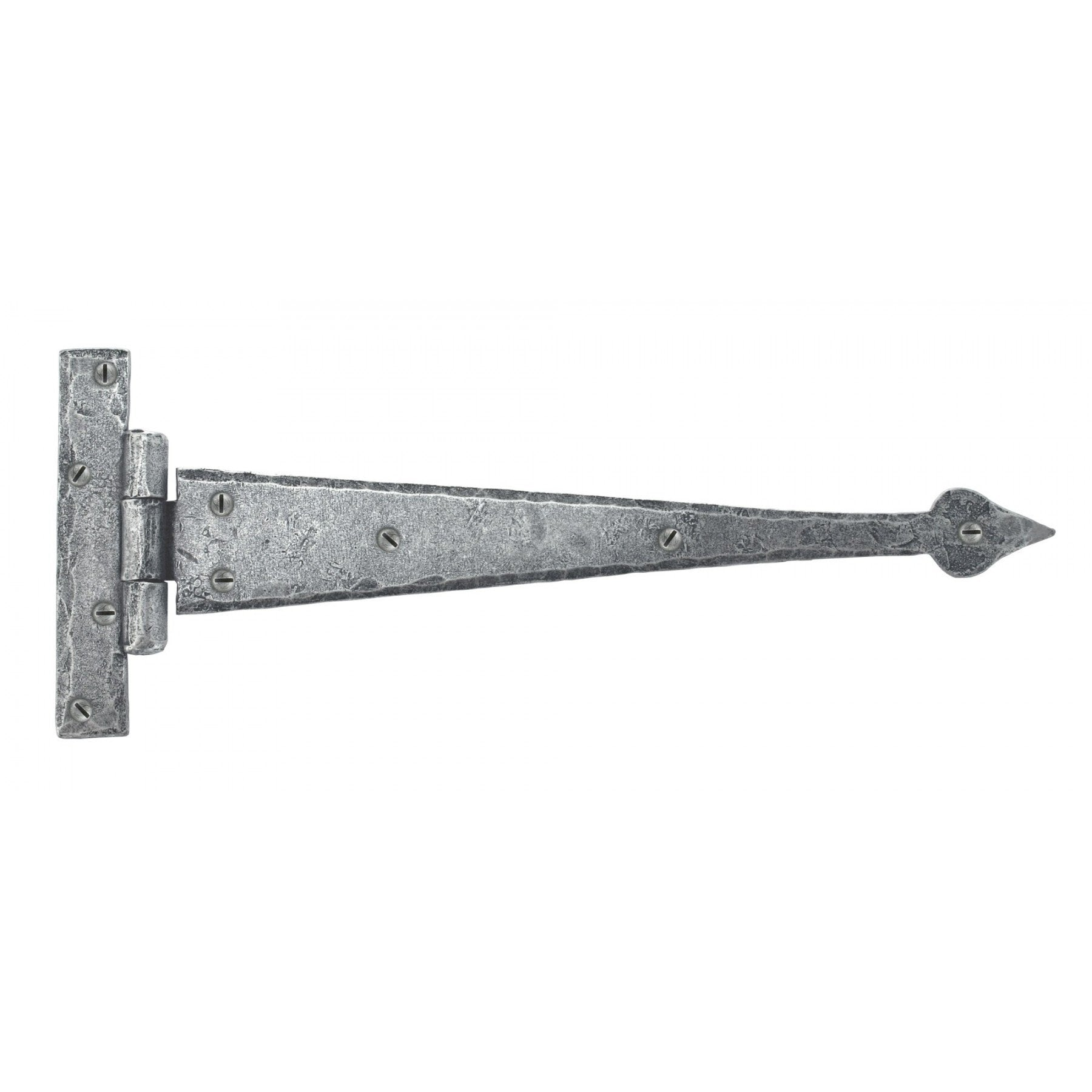 From the Anvil Pewter 12'' Arrow Head T Hinge (pair)