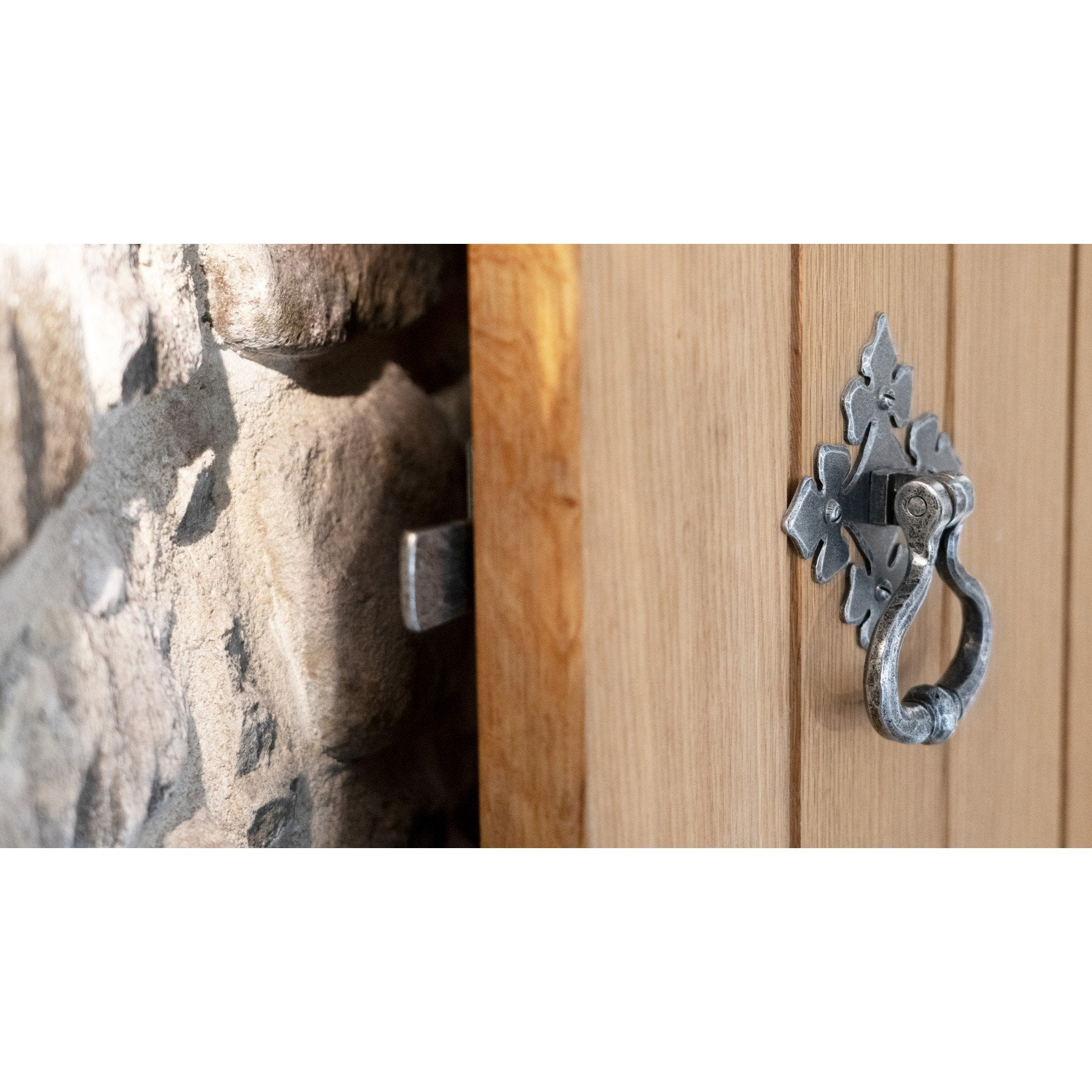 Pewter Shakespeare Latch Set - No.42 Interiors