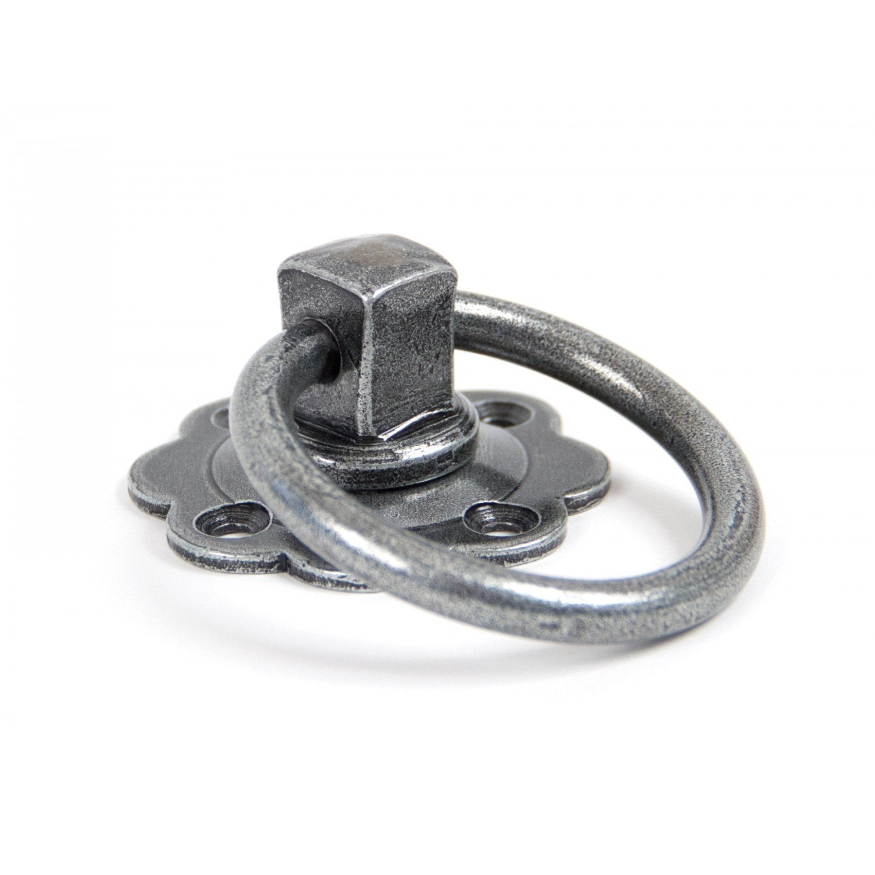 From the Anvil Pewter Ring Turn Handle Set