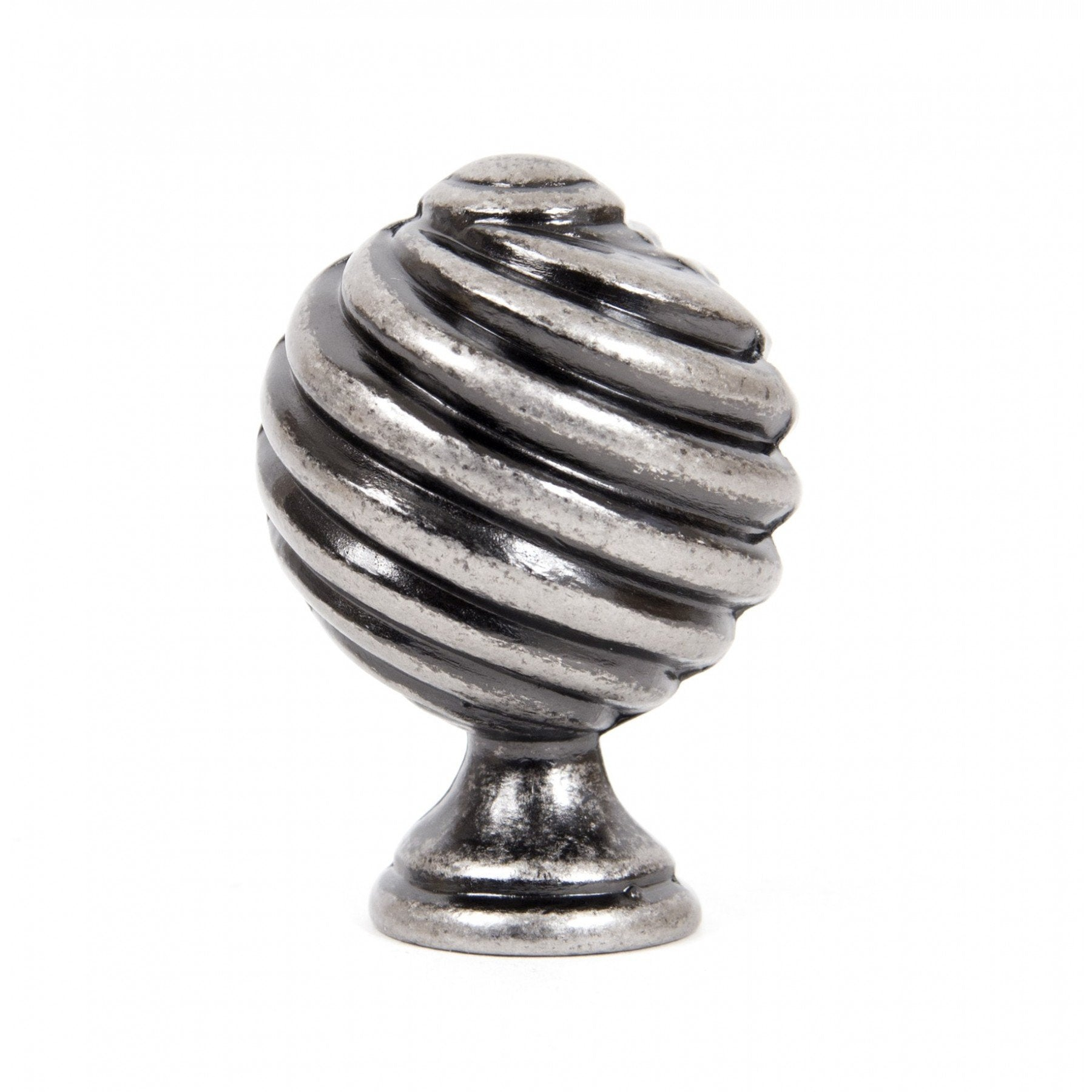 Pewter Patina Twist Knob - No.42 Interiors