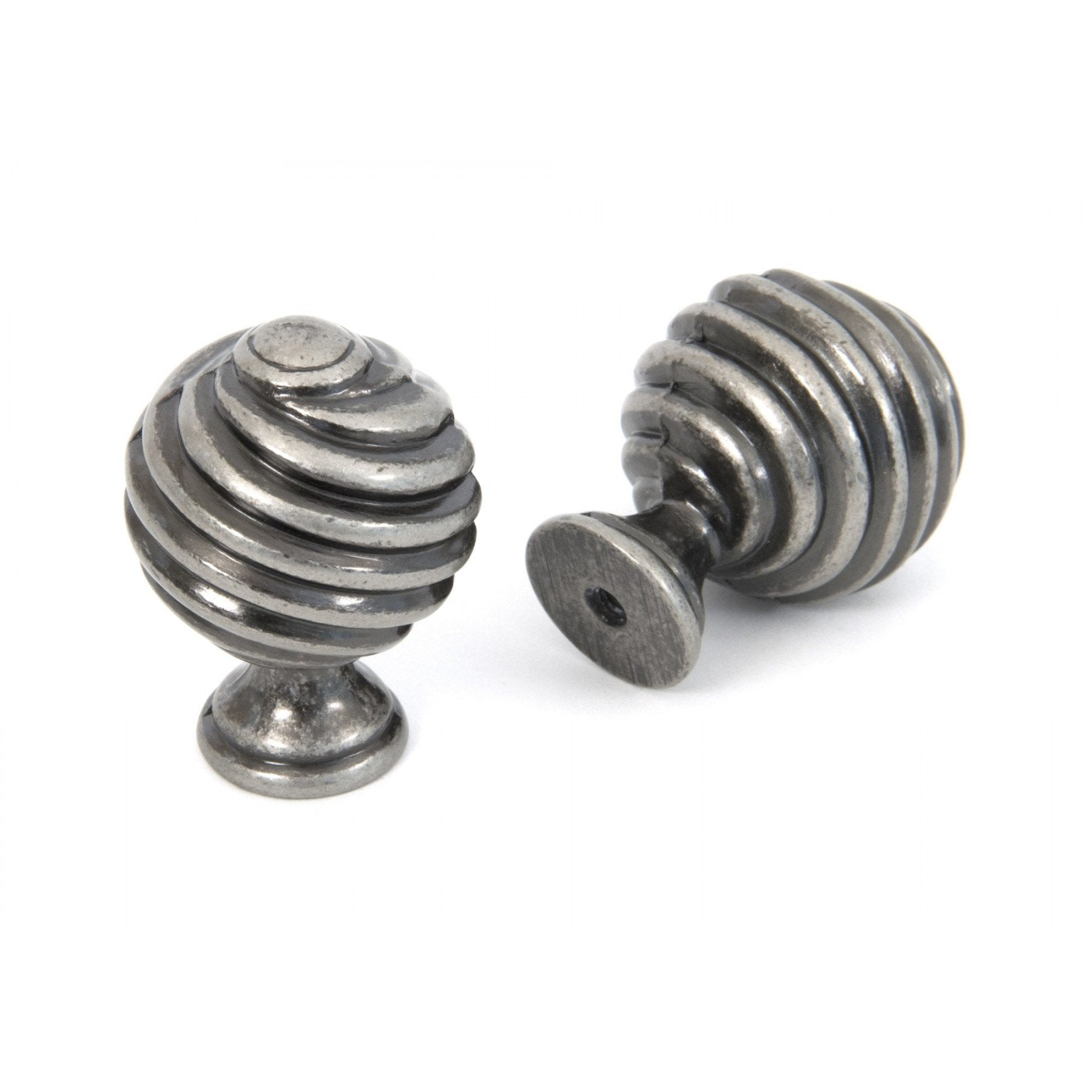From the Anvil Pewter Patina Twist Knob