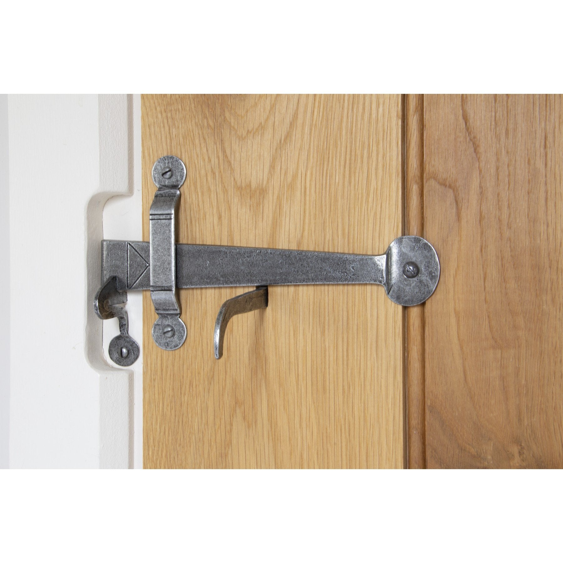 Pewter XL Medium Bean Thumblatch - No.42 Interiors