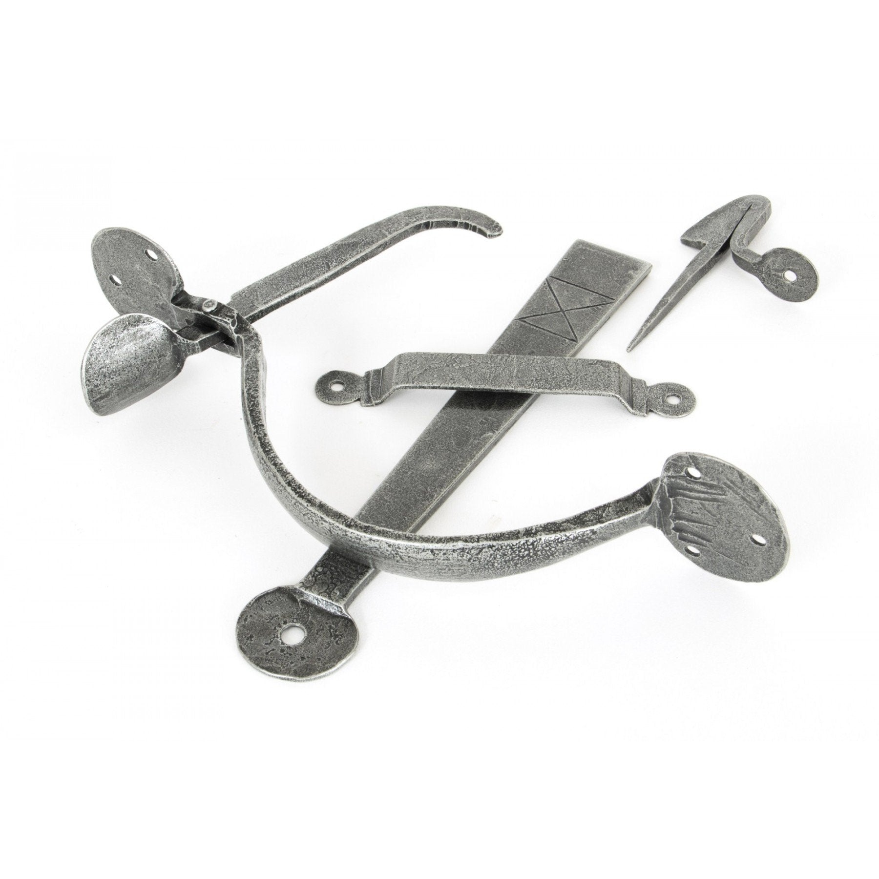 Pewter Heavy Bean Thumblatch - No.42 Interiors