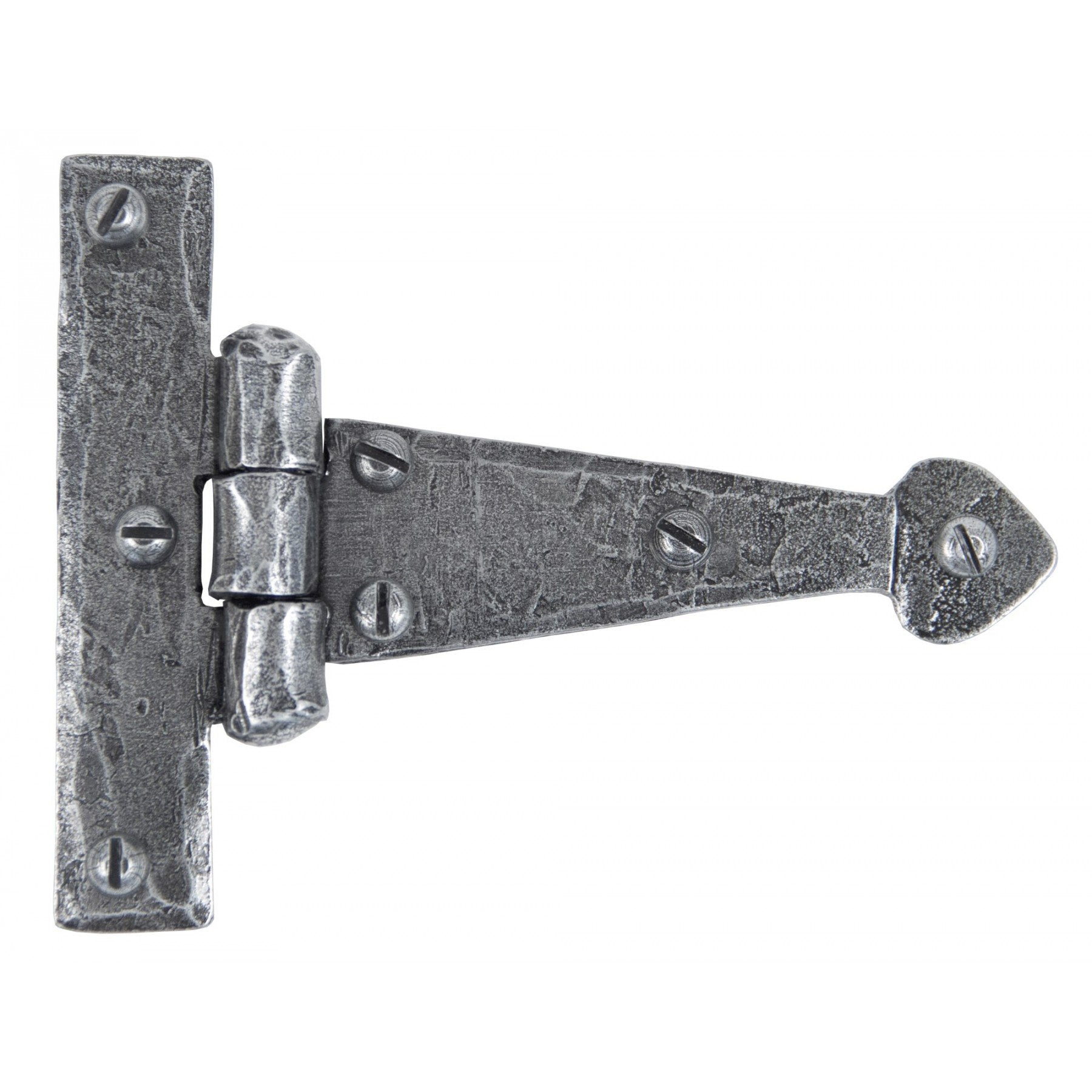 Pewter 4'' Arrow Head T Hinge (pair)