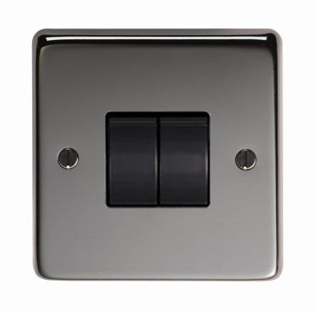 BN Double 10 Amp Switch - No.42 Interiors